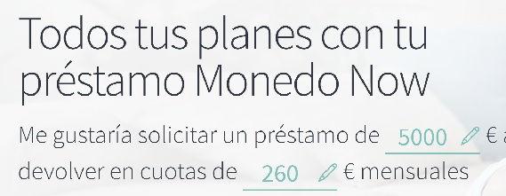 Monenonow prestamos 5000 euros