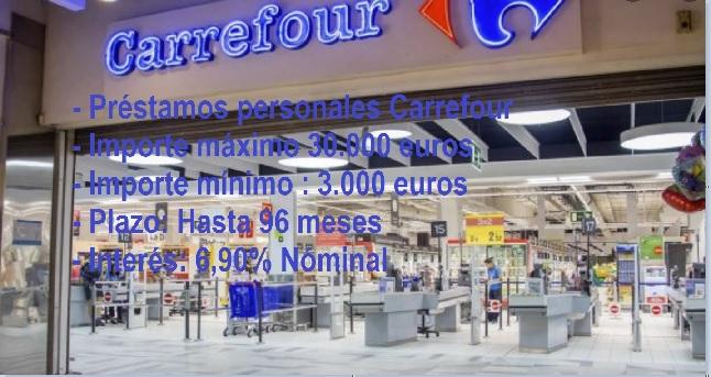 Préstamos Carrefour Pass